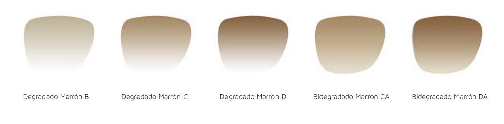 Marrones degradados